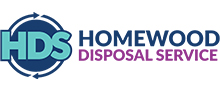 Homewood Disposal Service Logo