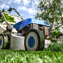 lawnmower yard waste service