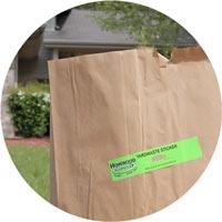Yard Waste Stickers Homewood Disposal Service