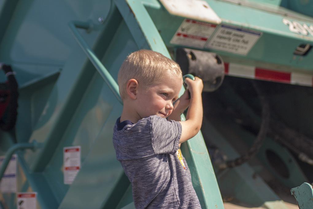 future garbage man